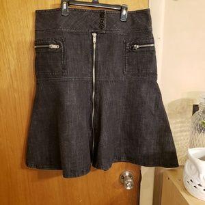 ♥️3 for $30♥️ mix it denim skirt